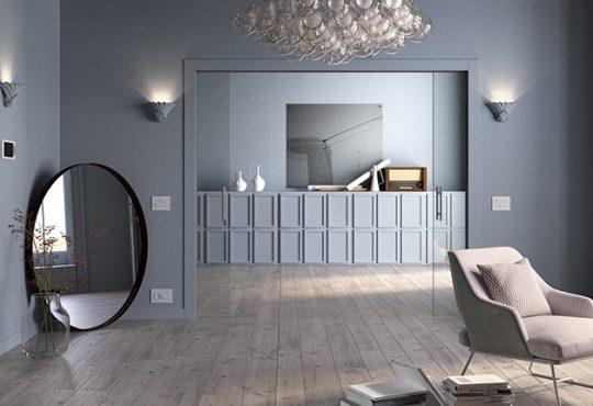 Porte scorrevoli a scomparsa e punti luce. Come scegliere correttamente le porte per interni!