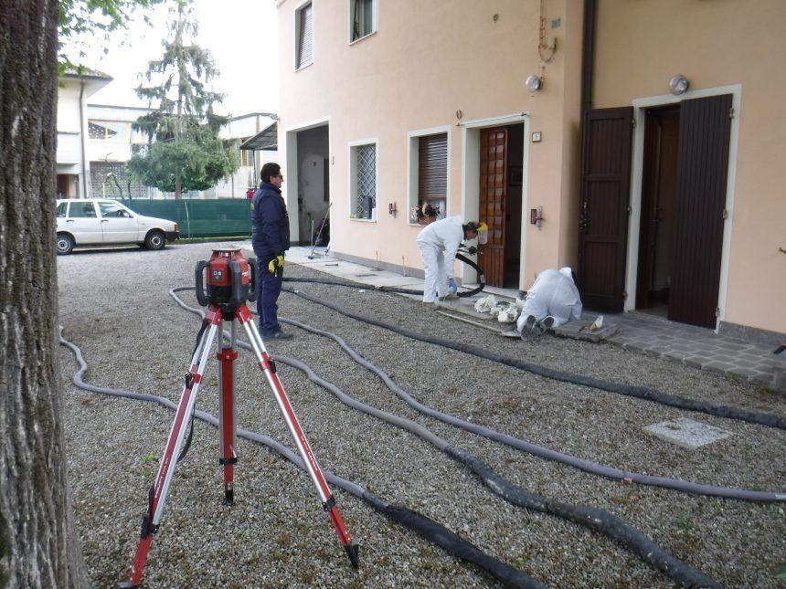 Consolidamento delle fondazioni tramite resine espandenti