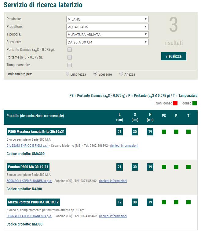 Applicativo aggiornato per la ricerca dei prodotti POROTON®