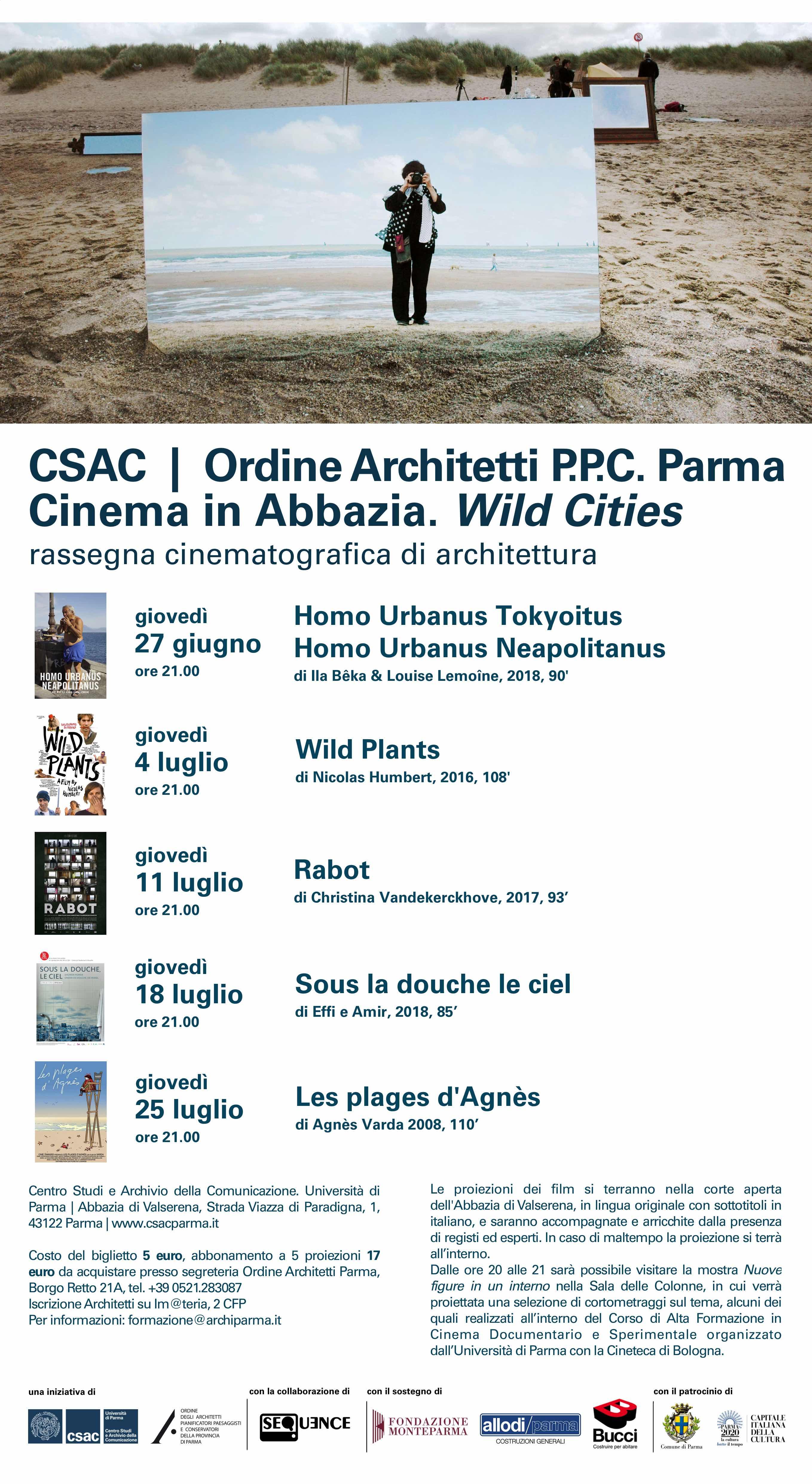 Giovedi 25 luglio serata conclusiva di Cinema in Abbazia
