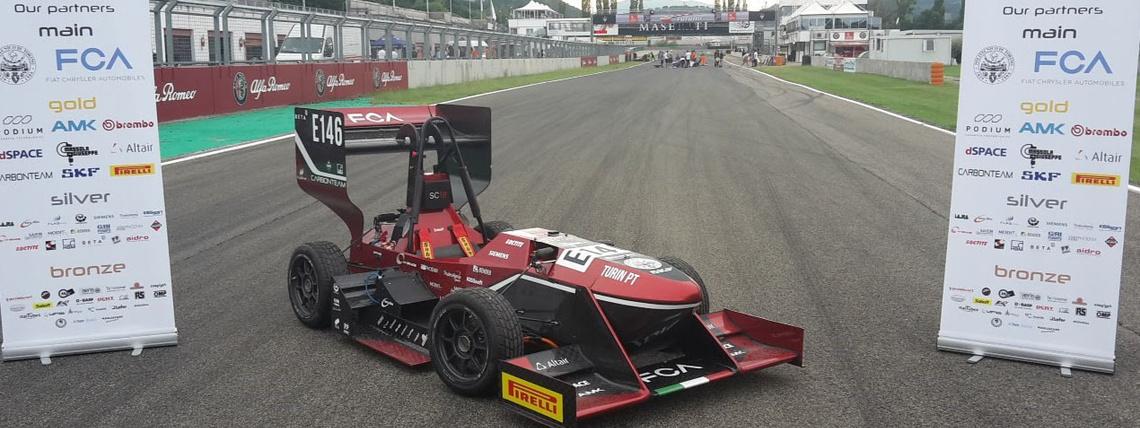 Monoposto del Politecnico vince la Formula Sae Italy 2019