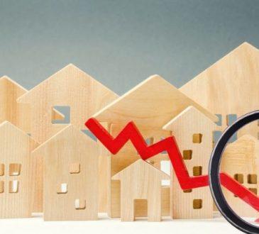 Trend negativo delle richieste di mutui e surroghe
