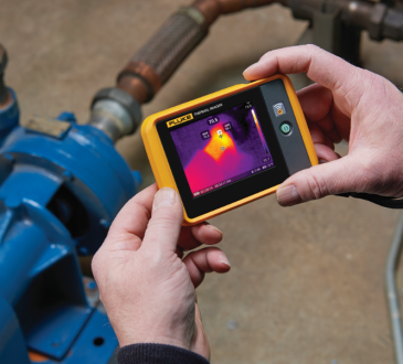 Fluke ha lanciato la prima Termocamera tascabile PTi120